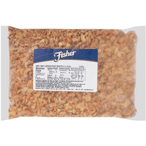 John B. Sanfilippo and Son Fisher Large Roasted Cashew Nut Pieces - 5 Lb.