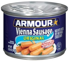 Pinnacle Armour Original Vienna Sausage Bites Chicken - 10 Oz.