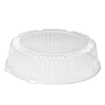 Lid 12 in. Dome Round Clear Pet Tray Serving