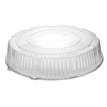 Lid 16 in. Dome Round Clear Pet Tray Serving
