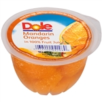 Dole Mandarin In Light Syrup Single Serve Fruit Bowl - 4 Oz.