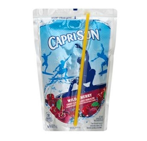Kraft Nabisco Capri Sun Wild Cherry Beverage - 6 Oz.