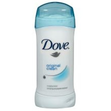 Unilever Best Foods Dove Antiperspirant Original Invisible Solid Clean - 2.6 Oz.