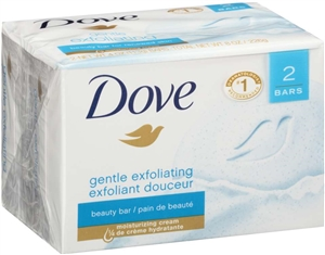 Unilever Best Foods Dove Gentle Exfoliating Bar Soap - 4.25 oz.
