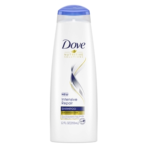Shampoo Dove Intense Damage Therapy - 12 Oz.