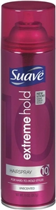 Hair Spray Suave Aerosol Extreme Hold - 11 Oz.