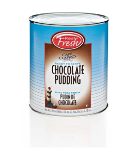Real Fresh Value Line Trans Fat Free Chocolate Pudding - 7 Pound