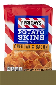 Cheddar and Bacon Potato Skins - 1.75 Oz.