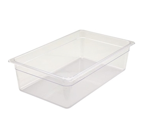 Winco Poly Fully Size Pan - 6 in.