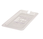 Winco 0.33 Poly Slotted Pan Cover