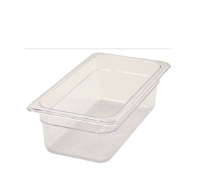 Winco Poly Pan One Third  Size - 4 in.