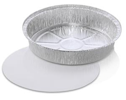 Handi Foil Round Pan With Lids - 9 in.