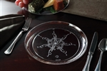 Emi Yoshi Caterers Collection Dinner Plate Clear - 9 in.