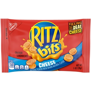 Kraft Nabisco Multipack Ritz Bits Sandwich Cheese Cracker - 12 Oz.
