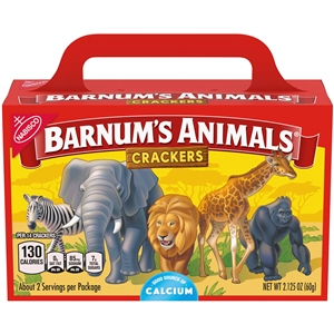 Nabisco Barnums Animal Crackers - 2.125 oz.