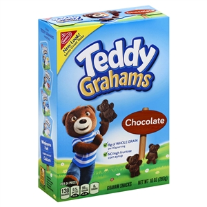 Kraft Nabisco Teddy Grahams Chocolate - 10 Oz.