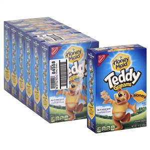 Kraft Nabisco Teddy Grahams Honey - 10 Oz.