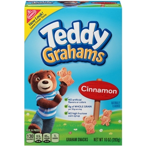 Kraft Nabisco Teddy Graham Cinnamon Cookie