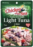 Chicken Of The Sea Lite Tuna Skip Jack Small Pouch 2.5 Oz.