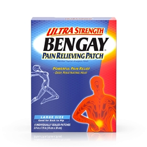 Bengay Ultra Strength Pain Relieving Pad