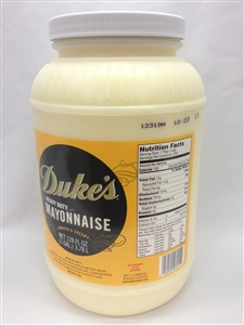 Dukes Heavy Duty Mayonnaise - 1 Gal.