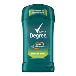Unilever Best Foods Degree Extreme Blast Antiperspirant Invisible Solid Deodorant - 2.7 Oz.