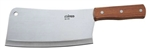 Heavy Duty Cleaver with Wood Handle - 3.5 in. x 8 in.