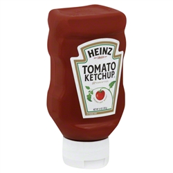Heinz Plastic Top Down Ketchup Red - 14 Oz.