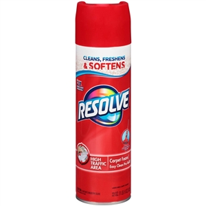 Resolve Foam Carpet Cleaner Aerosol Can - 22 Oz.