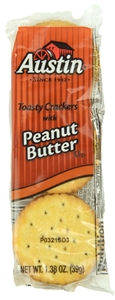 Toasty Cracker Peanut Butter Tray - 11 Oz.