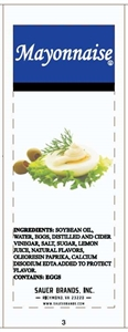 Sauers Mayonnaise Pouch - 9 Gm.