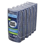 Right Guard Sport Anti-Perspirant Deodorant Invisible Solid Fresh - 2.6 Oz.