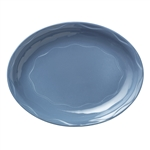 Syracuse Cantina Blueberry Colored Carved Platter
