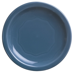 Syracuse Cantina Blueberry Carved Plate - 9 in.