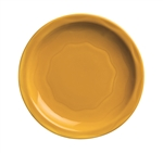 Syracuse Cantina Saffron Carved Plate - 7.25 in.