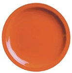 Syracuse Cantina Cayenne Carved Plate - 9 in.