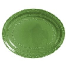 Cantina Carved Sage Platter - 13.62 in.
