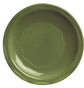 Syracuse Cantina Sage Carved Plate - 9 in.