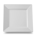 Square Salad Plate White - 8 in.