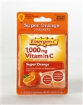 Emergen C Super Orange Flavored Fizzy Drink Mix