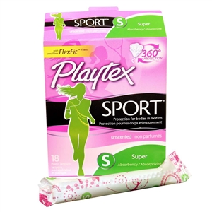 Playtex Sport Super Unscent Tampon