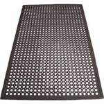 Floor Mat Anti Fatigue Black