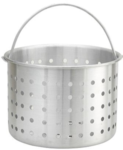 Aluminum Steamer Basket Fits Stock Pot - 20 Qt.