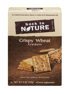 Cracker Back To Nature Crispy Wheat - 8 Oz.