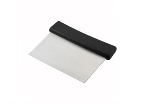 Dough Scraper Plastic Handle Stainless Steel 6 in. x 3 in. Blade