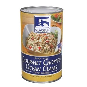 Gourmet Chopped Ocean Clam - 51 Oz.