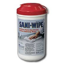 Nice Pak Extra Large Hard Surface Sanitizing Wipes Canister