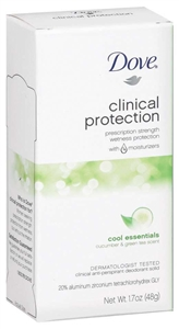 Unilever Best Foods Dove Clinical Protection Cool Essential Deodorant - 1.7 oz.