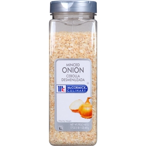 Seasoning Minced Onion No Msg - 17 Oz.