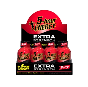 Living Essentials 5 Hour Energy Extra Strength Drink